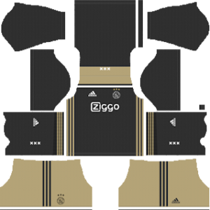 AFC Ajax away1 kit 2018-2019 dream league soccer