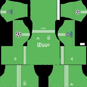 AFC Ajax UCL goalkeeper away kit 2018-2019 dream league soccer