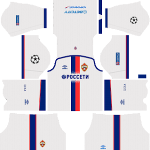 CSKA Moscow away kit 2018-2019 dream league soccer