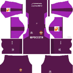 CSKA Moscow goalkeeper away kit 2018-2019 dream league soccer