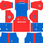 CSKA Moscow UCL Kits 2018/2019 Dream League Soccer