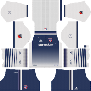 FC Dallas Goalkeeper away kit 2018-2019 dream league soccer