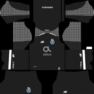 FC Porto goalkeeper home kit 2018-2019 dream league soccer