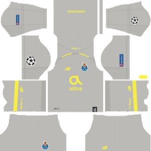 FC Porto UCL Kits 2018/2019 Dream League Soccer