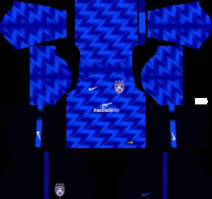 Johor Darul Takzim traning kit 2019-2020 dream league soccer