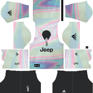 Juventus FIFA 19 Adidas Digital Fourth Kit