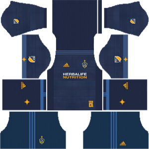 LA Galaxy away kit 2018-2019 dream league soccer