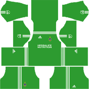 LA Galaxy goalkeeper away kit 2018-2019 dream league soccer