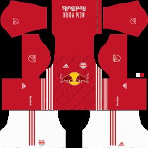 New York Red Bulls away kit 2018-2019 dream league soccer