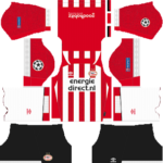 PSV Eindhoven UCL Kits 2018/2019 Dream League Soccer