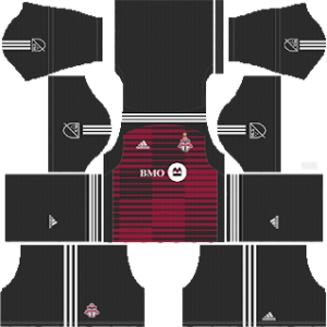 Toronto FC Goalkeeper home kit 2018-2019 dream league soccer