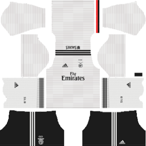 benfica away kit 2018-2019 dream league soccer