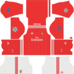 SL Benfica FC UCL Kits 2018/2019 Dream League Soccer
