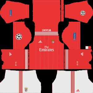 SL Benfica FC UCL Kits 2018/2019 Dream League Soccer
