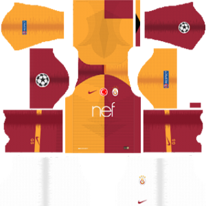 Galatasaray S.K. UCL Kits 2018/2019 Dream League Soccer