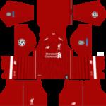 Liverpool Kits UCL 2018/2019 Dream League Soccer