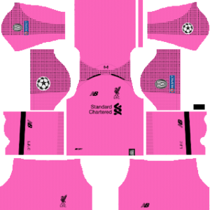 Liverpool ucl goalkeeper third kit 2019-2020 dream league soccer