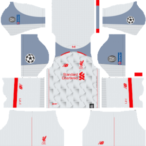 Liverpool ucl third kit 2019-2020 dream league soccer
