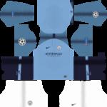 Manchester City UCL Kits 2019/2020 Dream League Soccer