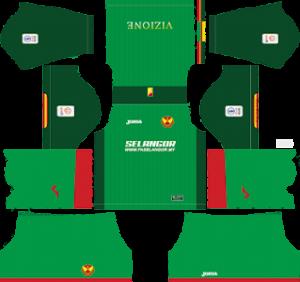 Selangor fa third kit 2019-2020 dream league soccer