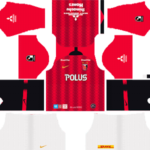 Urawa Red Diamonds FC Kits 2019/2020 Dream League Soccer