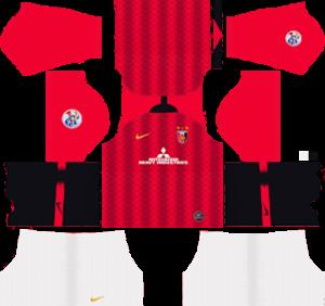 Urawa Red Diamonds home kit 2019-2020 dream league soccer