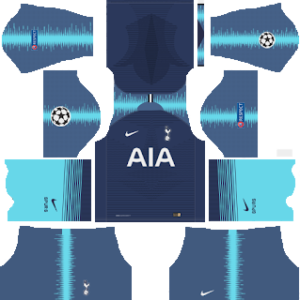 Tottenham Hotspur away kit 2019-2020 dream league soccer