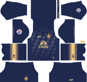 buriram united FC acl home kit 2019-2020 dream league soccer