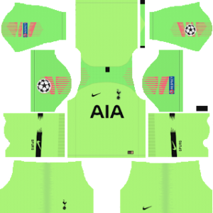 Tottenham Hotspur goalkeeper away kit 2019-2020 dream league soccer