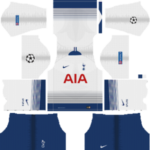 Tottenham Hotspur UCL Kits 2018/2019 Dream League Soccer