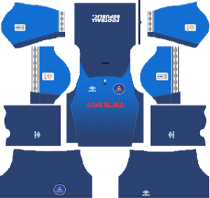 pahang fa goakeeper away kit 2019-2020 dream league soccer