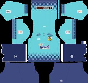 perak fa gaolkeeper away kit 2019-2020 dream league soccer