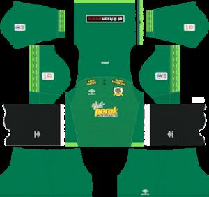 perak fa gaolkeeper home kit 2019-2020 dream league soccer