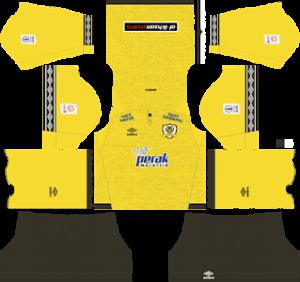 Perak FA TBG Kits 2019/2020 Dream League Soccer