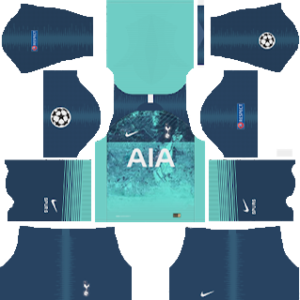 Tottenham Hotspur third kit 2019-2020 dream league soccer