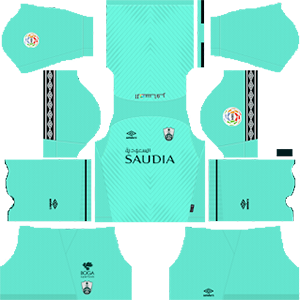Al-Ahli Saudi FC away kit 2019-2020 dream league soccer