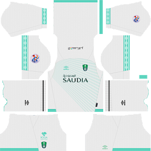 Al-Ahli Saudi FC acl home kit 2019-2020 dream league soccer
