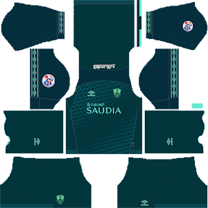 Al-Ahli Saudi FC acl third kit 2019-2020 dream league soccer