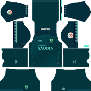Al-Ahli Saudi FC third kit 2019-2020 dream league soccer