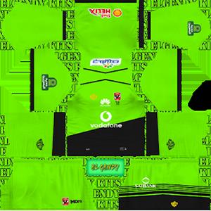 Al Ahly SC goalkeeper away kit 2018-2019 dream league soccer