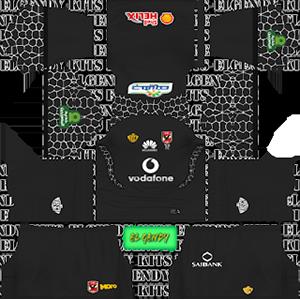 Al Ahly SC goalkeeper home kit 2018-2019 dream league soccer