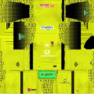 Al Ahly SC goalkeeper third kit 2018-2019 dream league soccer