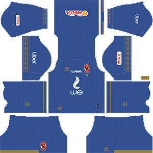 Al Ahly SC away kit 2019-2020 dream league soccer