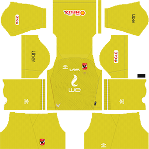 Al Ahly SC goalkeeper away kit 2019-2020 dream league soccer