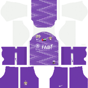 Al-Ain FC away kit 2019-2020 dream league soccer