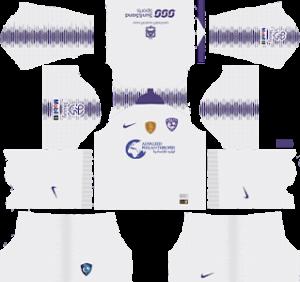 Al Hilal FC away kit 2019-2020 dream league soccer