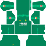 Beijing Sinobo Guoan FC Kits 2019/2020 Dream League Soccer