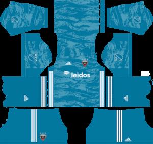 DC united goalkeeper home kit 2019-2020 dream league soccer