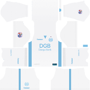Daegu FC acl away kit 2019-2020 dream league soccer