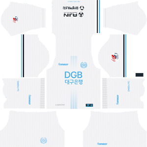 Daegu FC away kit 2019-2020 dream league soccer